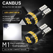 2x Canbus T10 24SMD LED Auto Innenraumbeleuchtung Lampen Standlicht Birnen Weiß