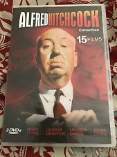 Alfred Hitchcock Collection - 15 Films - 3 DVDS (2008)