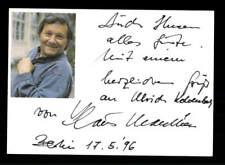 Klaus Manchen Original Signiert # BC 114830
