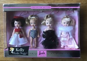 Kelly Nostalgic Favorites Collector Edition Ornament Giftset NEW NRFB OOP Barbie