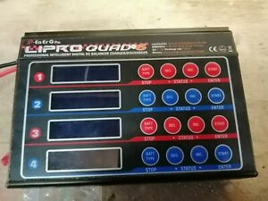 jp lipro quad charger 6 does all battery read listing before bidding