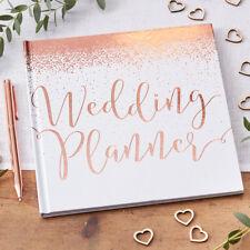 Hochzeitsplaner 'Wedding Planner' roségold weiß Hochzeit Planer Hochzeitsplaner