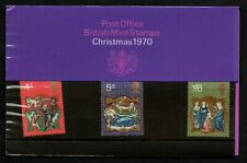 "GB 1970 sg838/40 ""Christmas 1970"" presentation pack."