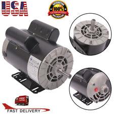 2hp3hp5hp Spl Electric Air Compressor Duty Motor 56 Frame Shaft 1phas Usa