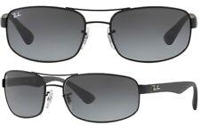 Ray-Ban Herren Sonnenbrillen RB3445 006/11 61mm schwarz F A4