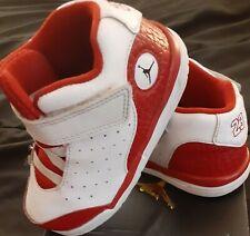 Toddler 8C Red/White Jordan Shoes