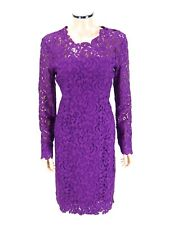 ELIE TAHARI Lace Cocktail Dress BELLAMY SIZE 10 Garnet Sheath Special Occasion