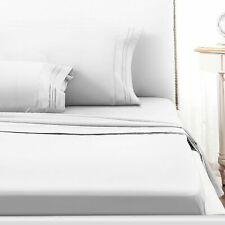 1800 Count Microfiber Comfort Extra Soft 4pc Bed Sheet Set Deep Pocket