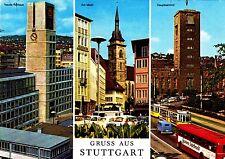 Gruss aus Stuttgart , Ansichtskarte, 1976 gelaufen