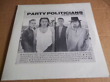 U-2 - Party Politicians (1987) rare live Euro double LP Color vinyl NM