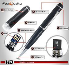 USB 16GB PenCam & Voice Recorder - Windows & Mac Compatible - Free P&P Worldwide
