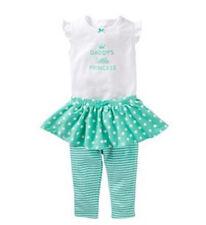 Carter's Baby Girl 2 Pc Daddy's Princess Bodysuit Tutu Pants Set-24 mo-FREE SHIP