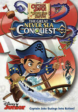 Captain Jake & The Neverland Pirates: The Great Never Sea Conquest (DVD) NEW!!