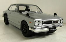 Triple9 1/18 Scale - Nissan Skyline GT-R KPGC10 Silver Diecast model car