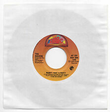 """THE ROVERS - Wasn't That A Party - 1980 Canadian Import 7"""" Single"""