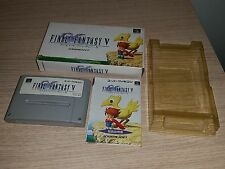 30-07 SUPER NINTENDO SNES FAMICOM SFC FINAL FANTASY V JAPAN