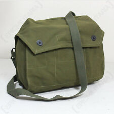 Finnish Army Gas Mask Bag - Military Carrier Pouch Original Surplus Respirator