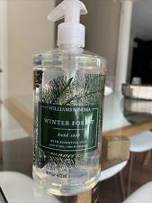 Williams Sonoma Winter Forest Hand Soap Pump / 16 Oz - New