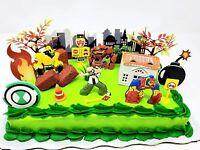 Dinosaur Train Deluxe Birthday Cake Topper Set with Buddy Tiny Shiny Tank  *NEW*