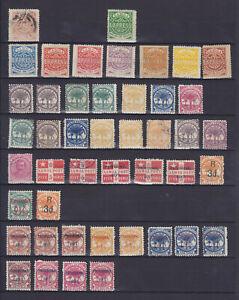 SAMOA 1877-1900, 45 STAMPS
