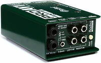 "NEW Radial ProAV1 Multimedia DI Direct Box RCA, 3.5mm XLR 1/4"" BUY IT NOW!!!"