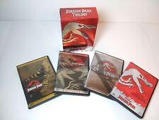 Jurassic Park Trilogy, 4-Disc Set (DVD, 2001) Great Condition