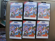 mar SEGA MASTER SYSTEM SMS - COMBINE OFFERS SONIC HEDGEHOG CHAOS TAILS + MANUAL
