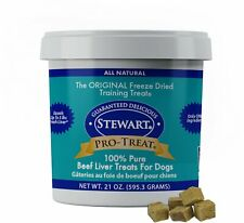 Stewart Freeze Dried Beef Liver Treats for Dogs 21 oz, 2-PACK (Free Shipping)