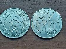 "Germany Democratic Republic 10 Mark 1990"" May Day""."