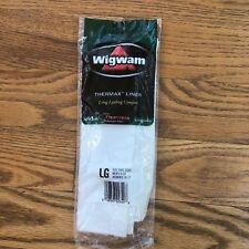 Wigwam Thermax Liner Mens Womens Size L Socks