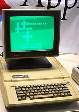"Apple IIe Computer w/64K RAM card Apple 5 1/2"" Disk Controller All keys work"