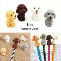 New Novelty Cartoon Animal Dog Eraser Stationery Supplies Color Gift Random O8G4