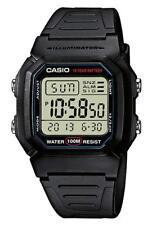 Reloj Casio W-800h-1av crono alarma REPETICION 100m