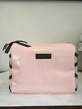 Lancome Light Pink Cosmetic Makeup Travel Bag Case
