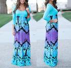 Vestito Lungo Donna Multicolore - Woman Maxi Dress 110152