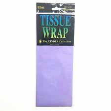 Cindus 10 Sheets Lavender Tissue Wrap Half Fold 20� x 26�