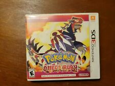 Pokemon Omega Ruby CASE ONLY No Game Nintendo 3DS