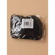 Bolsa de 100 fino pelo negro gomas elásticas Diadema