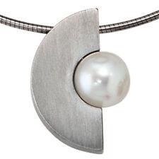 Echtschmuck-Halsketten & -Anhänger aus Edelstahl ohne Stein für Damen