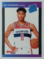 2019-20 Panini Donruss Rated Rookie Rui Hachimura RC #8, Wizards, 1 of 3431