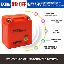 12V YTX7L BS Battery Honda CBR250R CB250 CMX250C NX250 CB600F NX125 Motorbike
