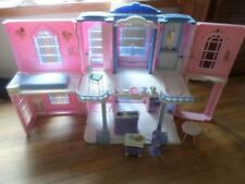 Barbie Grand Hotel Dollhouse w/ working sounds cart Bed LOT