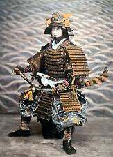 Japanese Samurai Warrior Who Wore Ouyoroi 1880 Classic Reprint Photo 7x5 Inch