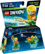 LEGO Dimensions 71237 Aquaman Fun Pack DC Comics AUS stock new unopened (#1314)