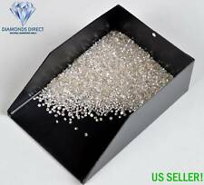 100% Natural Loose Round Single Cut 25 Diamonds 1.20mm FL-VS, D-H, Real Polished