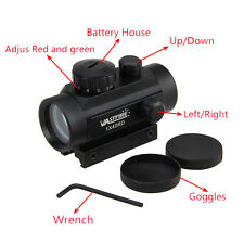Cool Red Green Dot Sight Holographic Reflex Laser Scope For Rifle Picatinny Rail