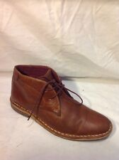 Boys Next Brown Leather Boots Size 3