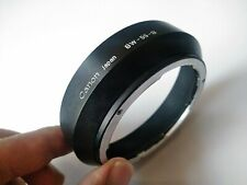 【EXC+++++ Rare!!】Canon BW-55-B  METAL Lens Hood for FD 24mm 28mm lens From JP