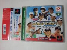GOLF MASTER 2000 JIKKYOU SONY PLAYSTATION GAME VIDEOGAMES PS JAP JAPANESE PSX