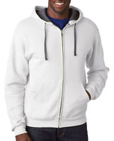 Fruit of The Loom Men's Super Soft Lightweight Full Zip Hooded Sweatshirt. SF73